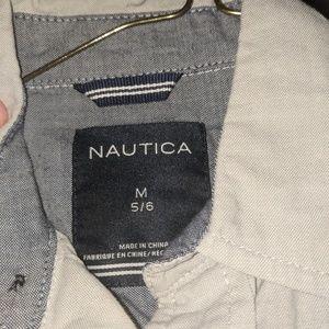 Button up boys dress shirt